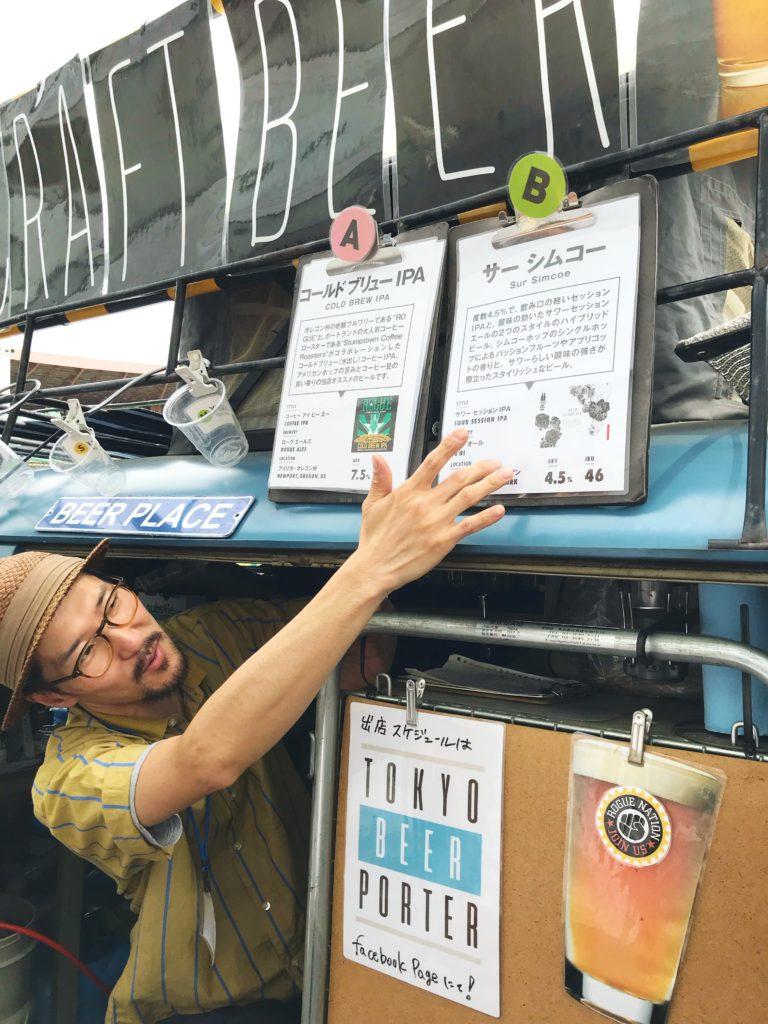 ストロールガレージブログ 東京蚤の市 TOKYO BEER PORTER