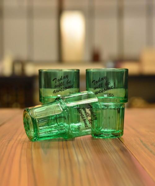 STROLL GARAGE LIBBEY GLASS