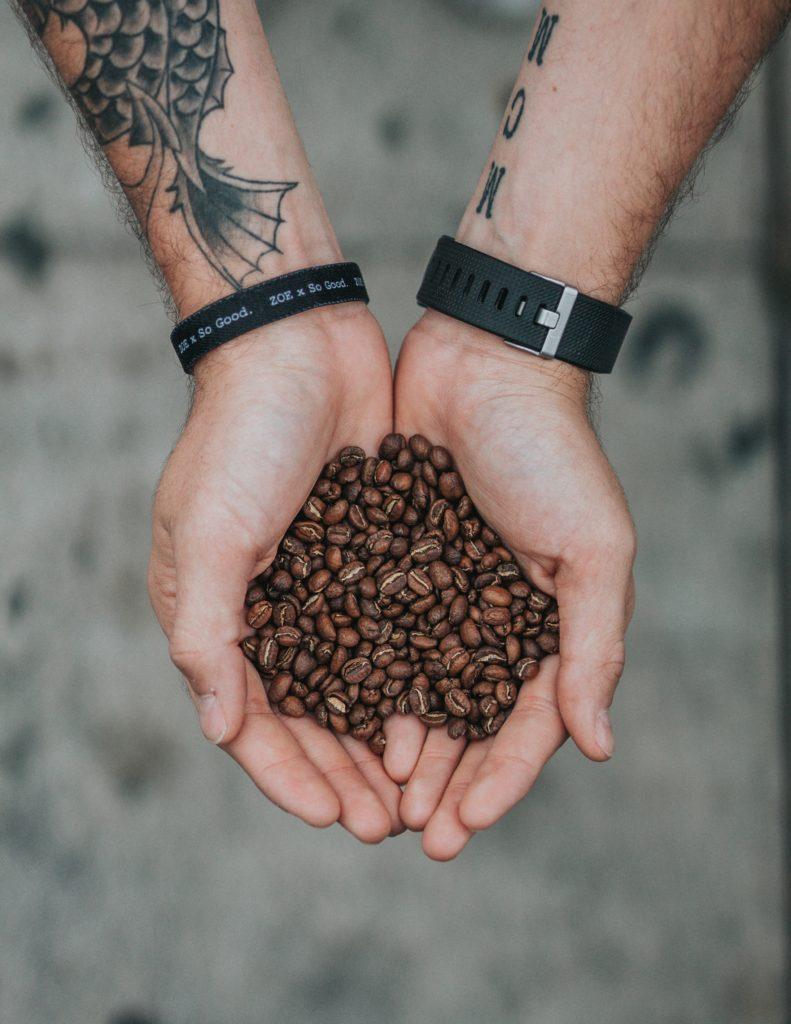 ストロールガレージ コーヒー豆アクセサリー ビーンズジュエリー