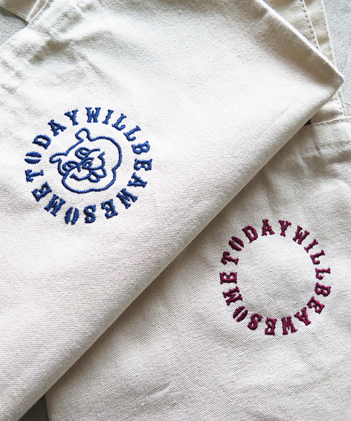 ストロールガレージ キャンバストート コーヒー好き コーヒーグッズ 刺繍バッグ