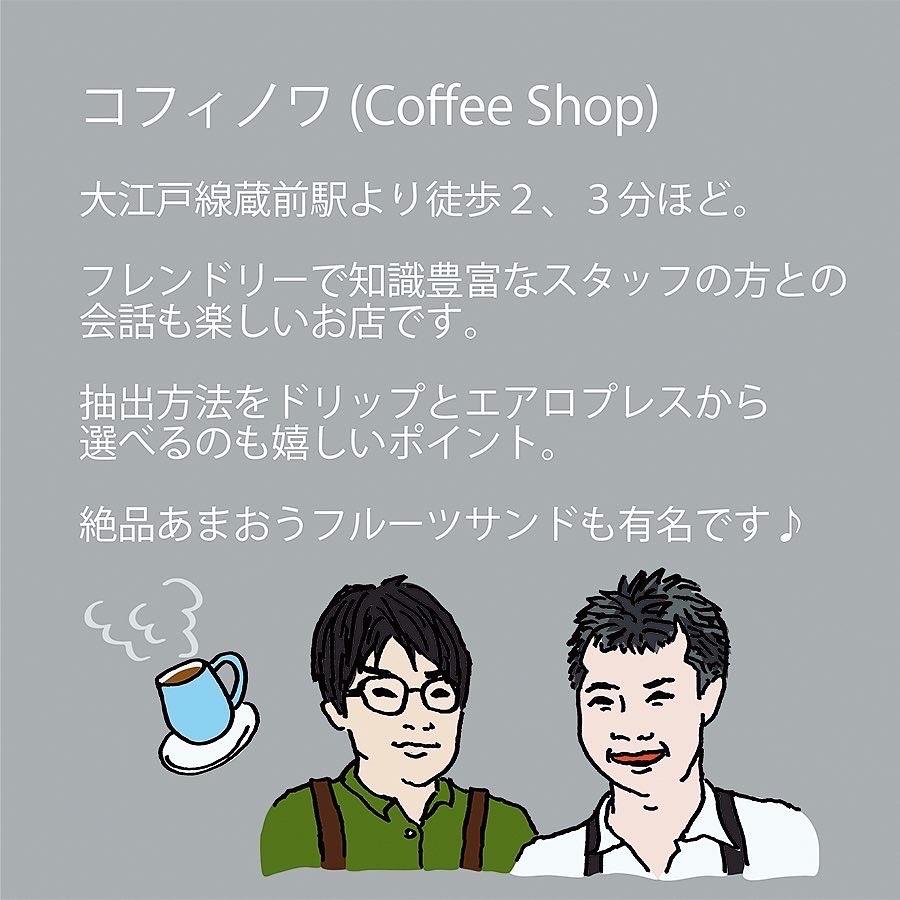 ストロールガレージ 広がれコーヒー好きの輪 蔵前カフェ コフィノワ あまおうサンド
