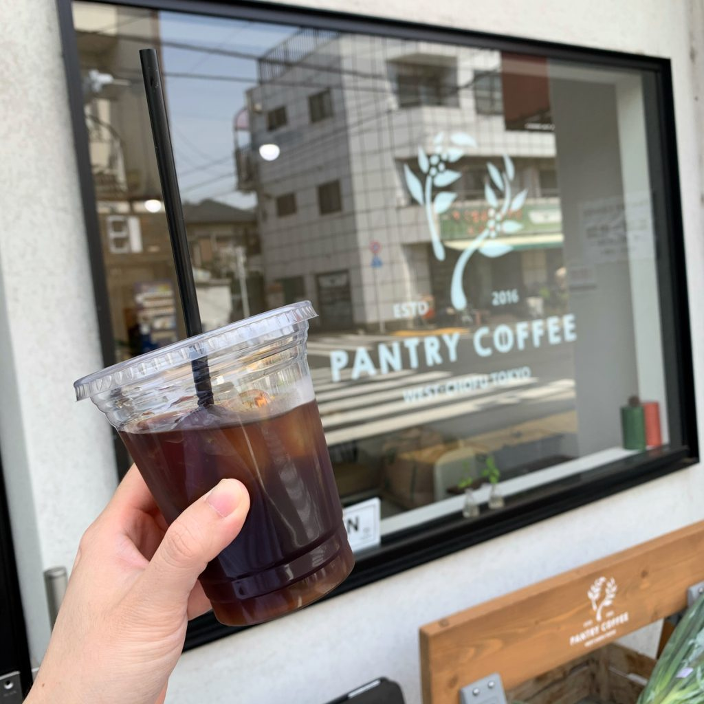 ストロールガレージ 調布カフェ パントリーコーヒー 西調布