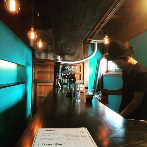 ストロールガレージ コーヒー豆のアクセサリー コーヒーが好きな人へプレゼント フォグコーヒー 秋田