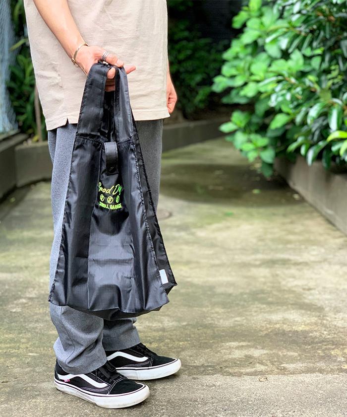 ストロールガレージ メンズエコバッグ 男性が持ちやすいエコバッグ ショッピングバッグ 折り畳み 折りたたみ