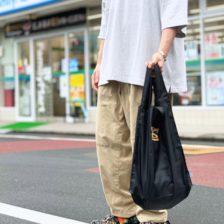 ストロールガレージ 刺繍エコバッグ メンズが持てるエコバッグ 太陽ロゴ