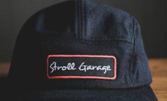 ストロールガレージ 5パネルキャップ ジェットキャップ キャンプキャップ ロゴ刺繍  メンズファッション
