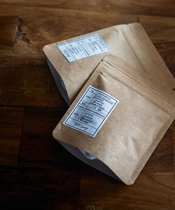 ストロールガレージ コーヒー豆のアクセサリー シルバージュエリー メンズジュエリー
